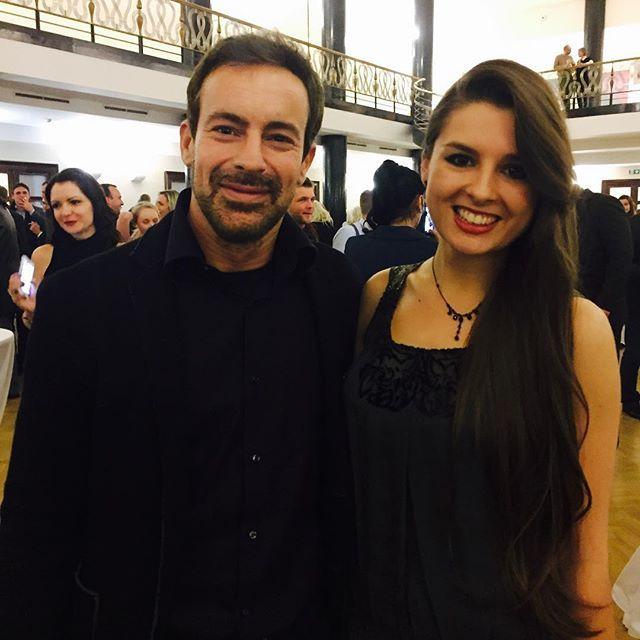 Gedeon Burkhard at the premiere of Lida Baarova movie ❤️