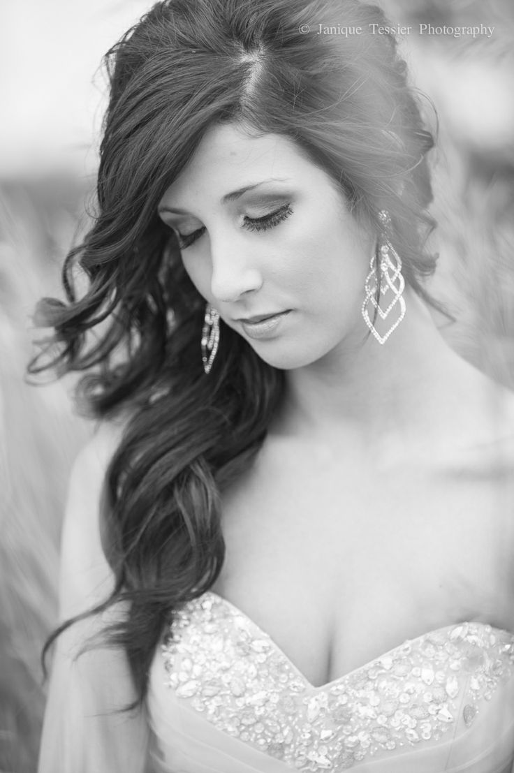 163 best Alexis prom images on Pinterest | Bridal hairstyles, Hair ...