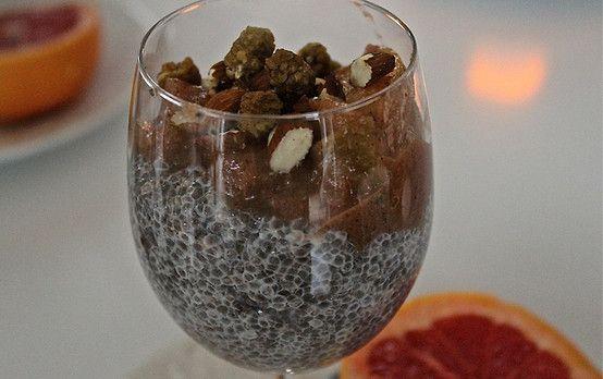 5 nyttiga frukostar som kickar igång morgonen: Chiapudding.  Recept: http://nyheter24.se/modette/mode/787596-5-nyttiga-frukostar-som-kickar-igang-morgonen  Chiapudding, healthy breakfast <3