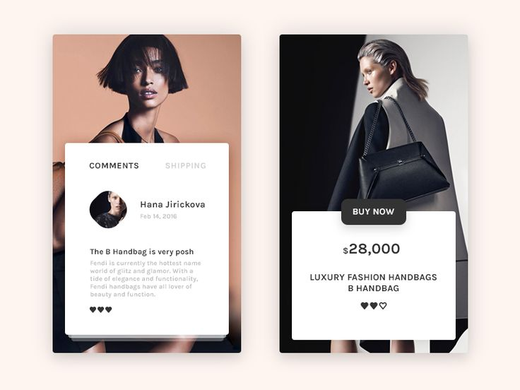 Fashion store concept