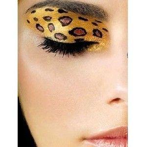 die besten 25 gesicht schminken leopard ideen auf. Black Bedroom Furniture Sets. Home Design Ideas