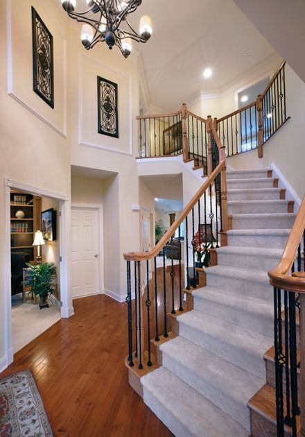 Model Home Foyer Pictures : Best images about toll brothers home designs on