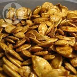 Pépins de citrouille grillés au sucre et aux épices