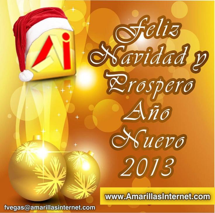 Feliz Navidad y Prospero Año 2013