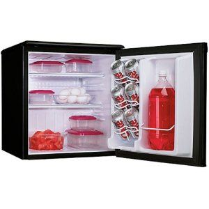 Keep your Lunch Cold at Work with a Portable Mini Refrigerator | Cubicle Bliss | @CubicleBliss | CubicleBliss.com | This is the refrigerator I bought for my office. My daughter also has the same one in her dorm at college.