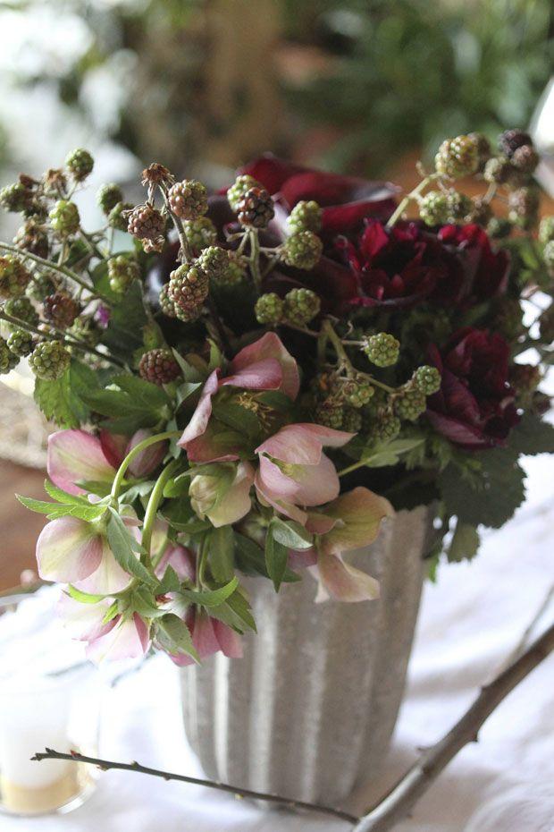 80 best Winter floral arrangements images on Pinterest Flowers