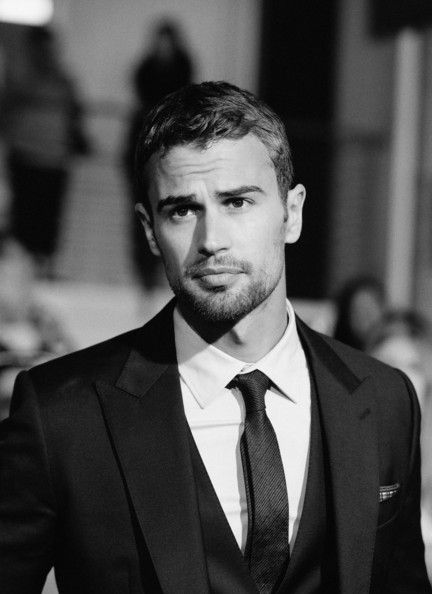 Theo James... listen when God was making this man.. He meant to put just a sprinkle of sexy into his bowl. But then he accidentally sneezed, and dropped the entire package of sexy into it. And that's how we got Theo..