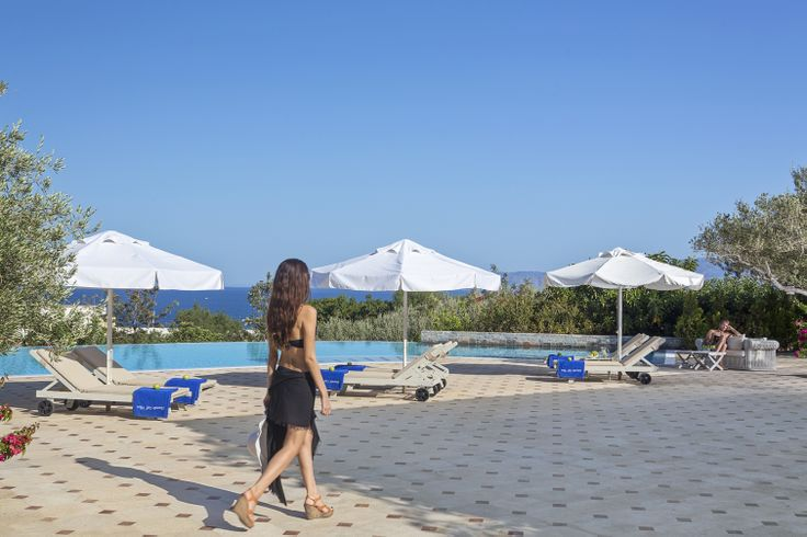 Enjoy our private beach at Elounda Gulf Villas #summerholidays #Crete