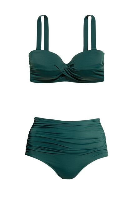 The Best Swimsuits For $50 Or Less #refinery29  http://www.refinery29.com/cheap-swimsuits#slide-8  We're digging the instant retro vibes. H&M+ Bikini Top, $29.95, available at H&M; H&M+ Bikini Bottoms High Waist, $17.99 $9.99, available at ...