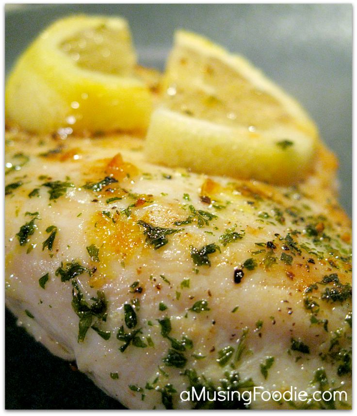 Lemon Garlic Chicken - (a)Musing Foodie