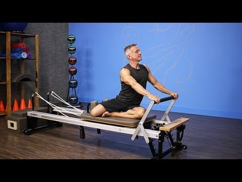 Local Ladies Take A Pilates Reformer Class On The STOTT PILATES Reformer.