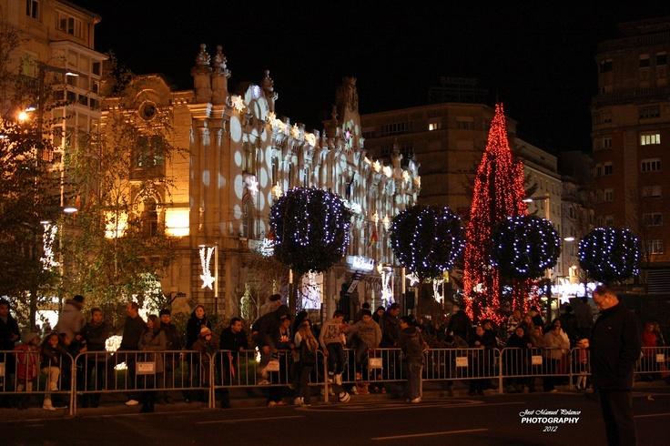 Cabalgata de Reyes de Santander 2012  #Cantabria #Spain