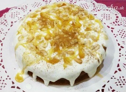 Medovo jogurtová torta (videorecept)