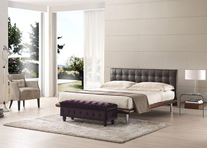 17 migliori idee su testata del letto in legno su - Imbottitura testata letto ...