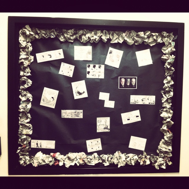 Classroom Newspaper Ideas : Best ideas about newspaper bulletin board on pinterest