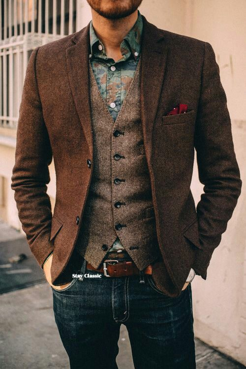 living-in-the-silver:  Playing off of earth tones.    | Raddest Men's Fashion Looks On The Internet