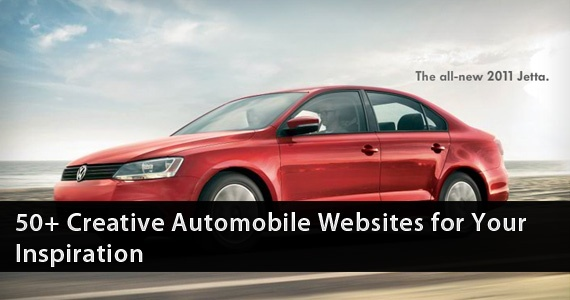50+ Creative Automobile websites for Your Inspiration Photo | For ...