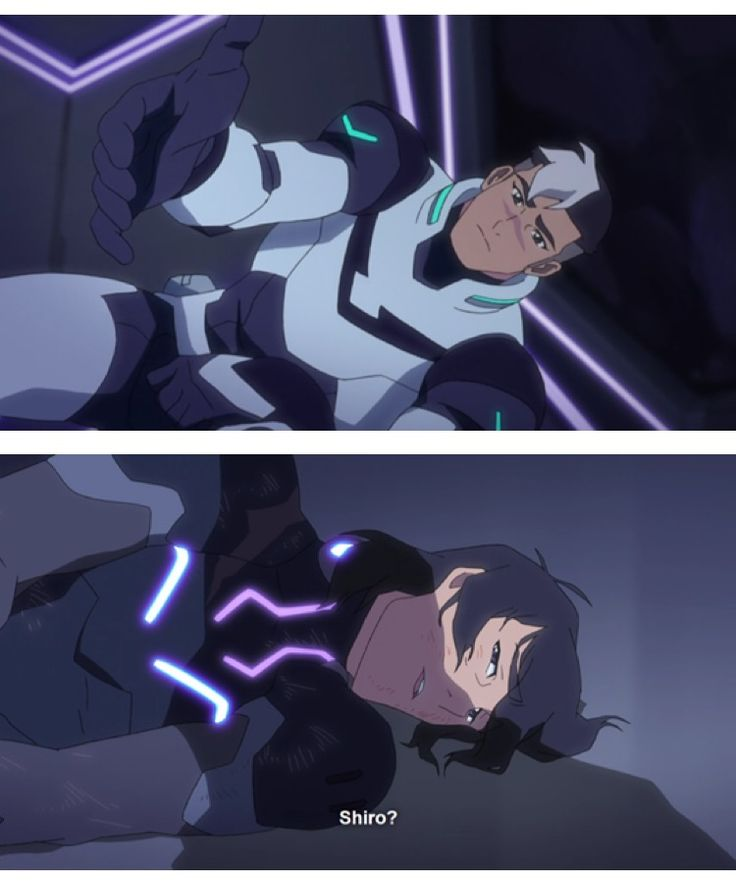 Broken and beaten, Keith thinks about Shiro. Sheith