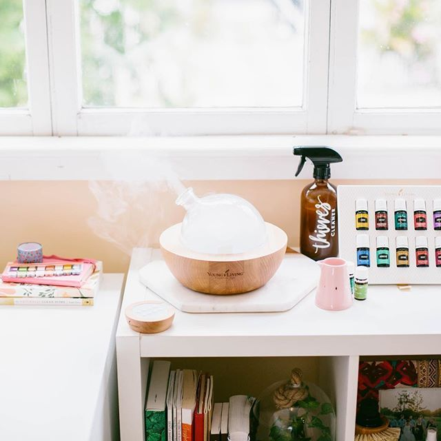 I've been diffusing lemon myrtle and lime NONSTOP in the office these days! Seriously - so good!!! ✨