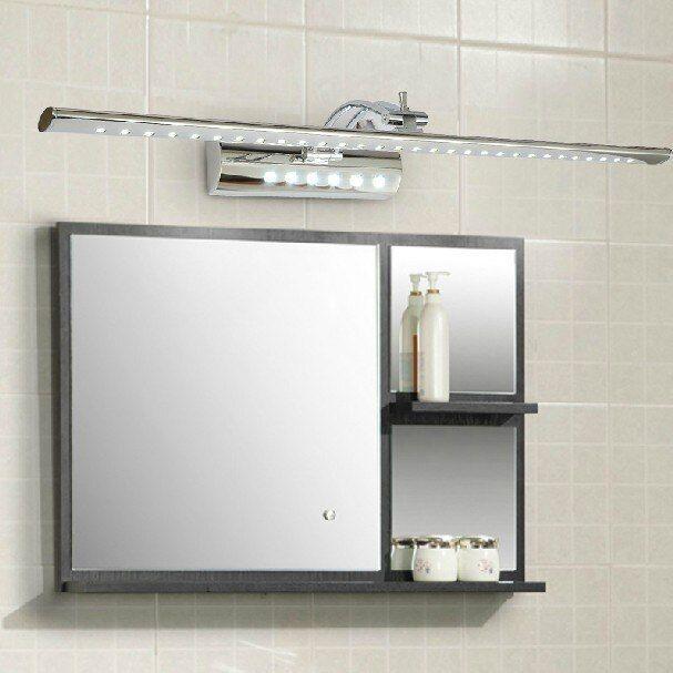 Dressing Table Lighting Mirror Design Stainless Steel 7w 53cm Led