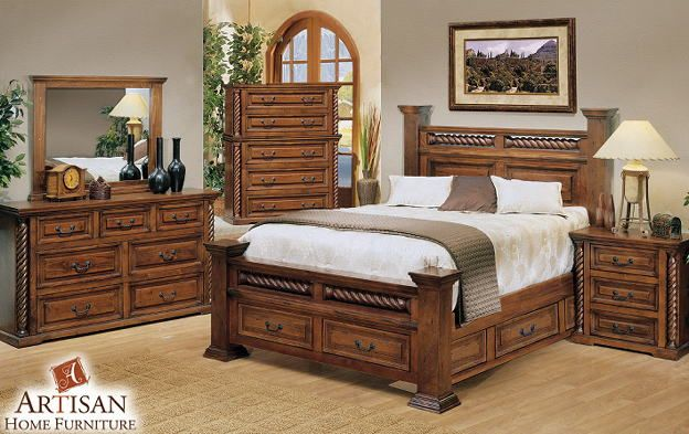 durango furniture | DURANGO SOUTHWESTERN BEDROOM SET