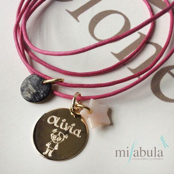 Collares para las mas pequeñas de la casa www.mifabula.com