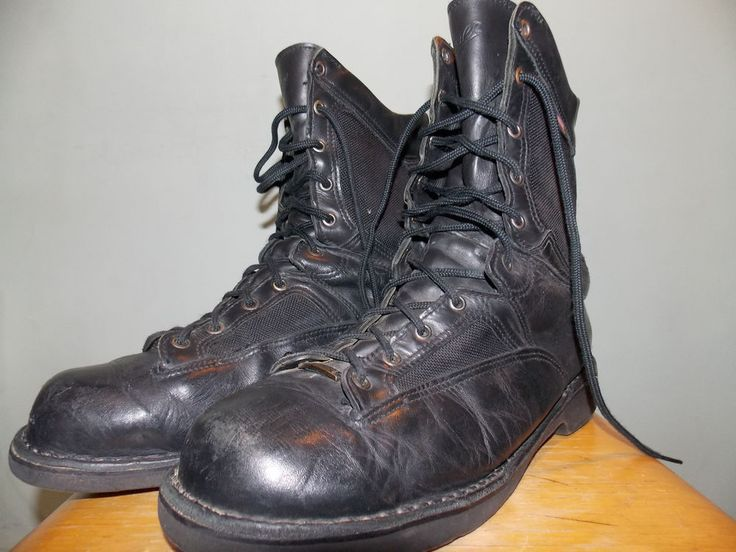 2000's Black Leather Danner Gore-Tex Boots Men's Size 13 USA Made ...