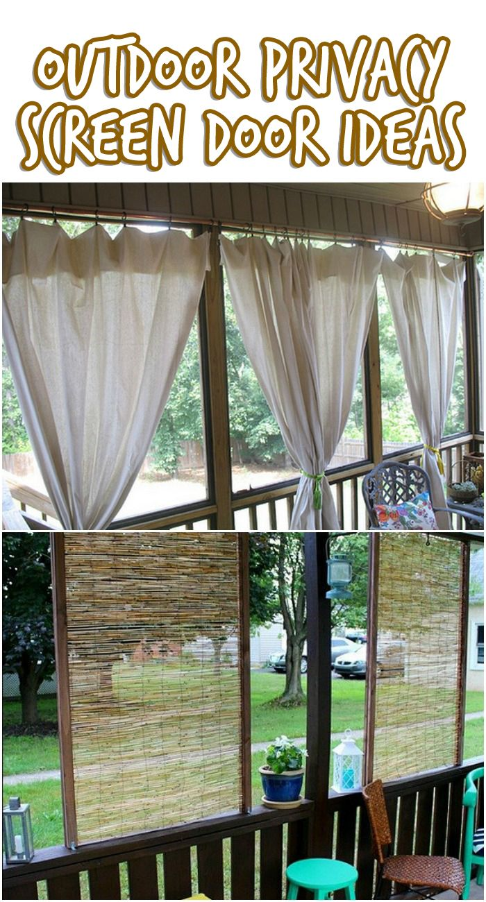 1000 Ideas About Privacy Screen For Deck On Pinterest