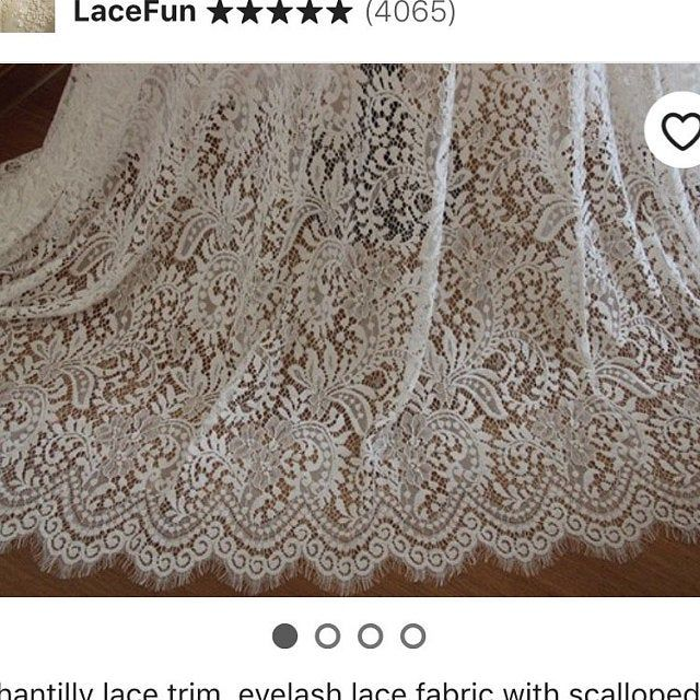 embroidered tulle lace fabric for curtain ivory Lace Fabric wedding table cloth