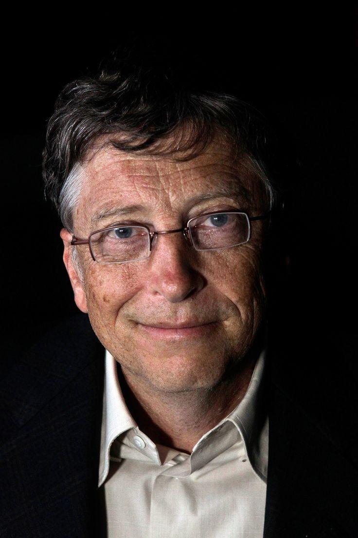 A Bill Gates le gusta usar la computadora en la primavera.