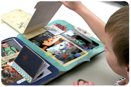 inspiration for homemade foto stacks- link to My Craft Channel episode