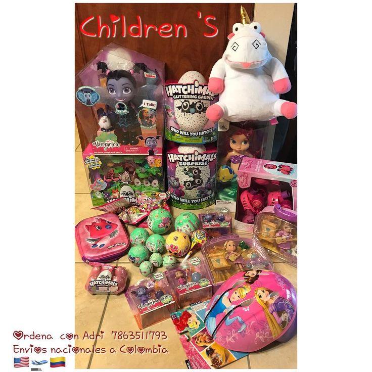 Juguetitos listos para ser enviados  shop @children_disney entregamos de 7-15 días depende disponibilidad del producto información de precios al momento congélalo con un 30% y así lo aseguras #compraconadri #hatchimals #squishies #hatchimalssurprise #vampirina #patines #hatchimaleggs #loldolls #lolsurprise #rapunzel #sirenita #unicornio #morral #kids #toys #juguetes #juqueteria #navidad #unicentrovillavicencio #unicentro #blackfriday