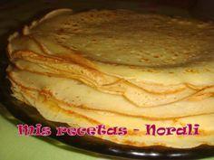 Masa básica para panqueques original del libro de Doña Petrona. La receta es tanto para preparaciones de rellenos dulces como saladas.