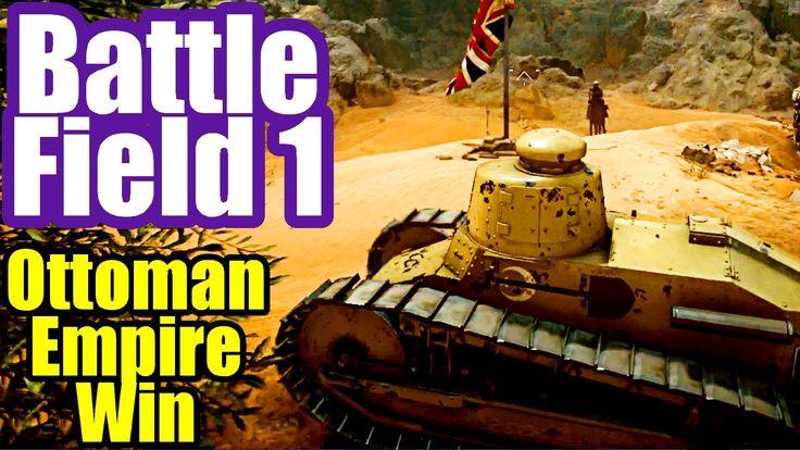 OTTOMAN EMPIRE WIN - Battlefield 1 PS4 Multiplayer Gameplay #3