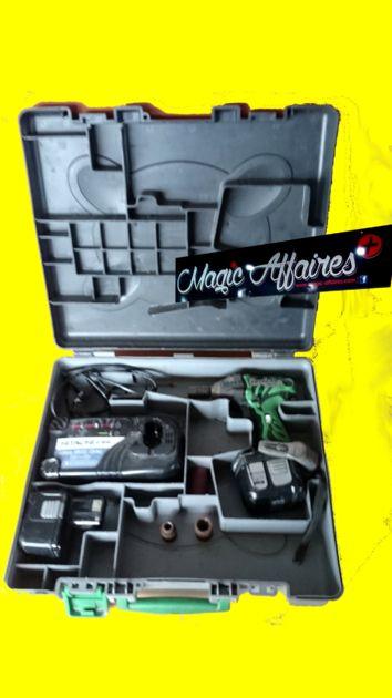 Boulonneuse à choc 14.4V 3Ah 200Nm WR 14DL HITACHI - MATERIEL PROFESSIONNEL/MACHINE PROFESSIONNEL - magic-affaires-22