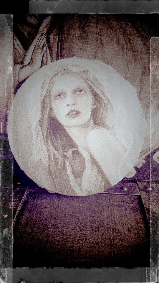 Bride /acrylic paint/ canvas