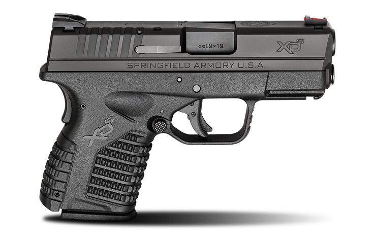 "The XD-S 3.3"" 9MM handgun is available at Springfield Armory® along with many other models that are ideal for concealed carry. Visit our website for specs."