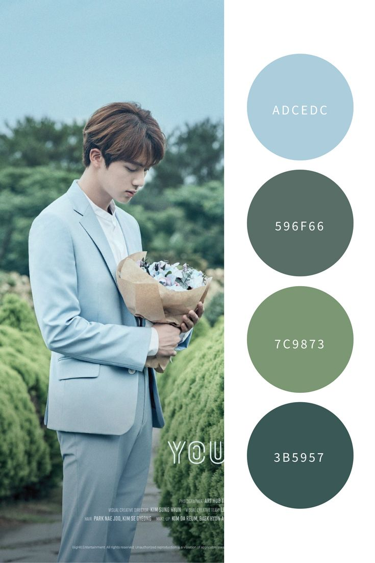 Love yourself color palette | The boys of Bangtan♥️ ...