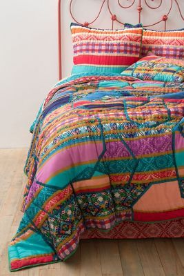 Janna Bedding - love the colours from Anthropologie