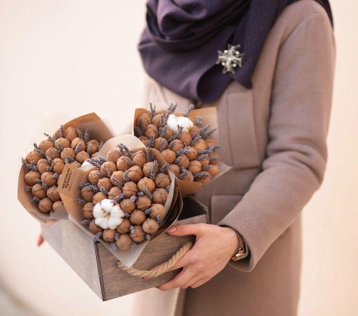 Ореховые снова в наличии#vkusnie.buketi Образ @kanceptkrama_bfm #букетизорехов
