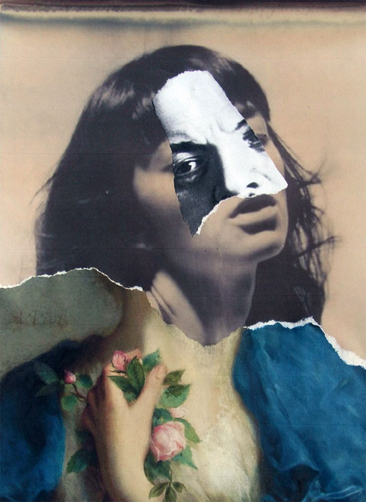stremplerart: Collage MASK 2013 Waldemar Strempler Tumblr