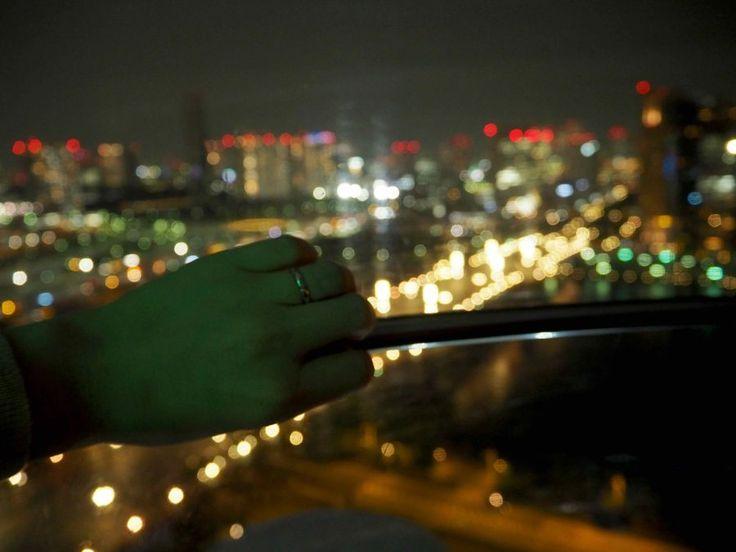 OSTOLAKOSSA: Täydellinen kosinta kesäisen Tokion valojen loisteessa maailmanpyörässä! <3