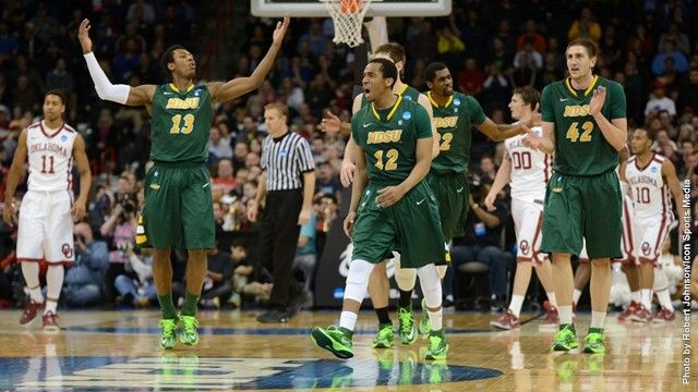 Huge win for #NDSU! | Bison Top Oklahoma 80-75 in OT for First NCAA Victory #Fargo @NDSU Bison Athletics
