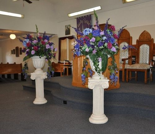 Flowers For Wedding Ceremony Altar: 204 Best Images About Church Wedding Decorations On