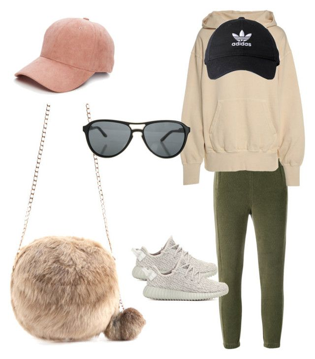 """""""Sans titre #105"""" by miachic on Polyvore featuring mode, Yeezy by Kanye West, adidas Originals, adidas, Collection XIIX et STELLA McCARTNEY"""