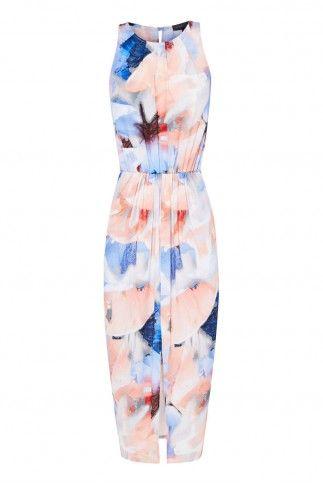 SHEIKE ULTRA VIOLET MAXI DRESS $139.95