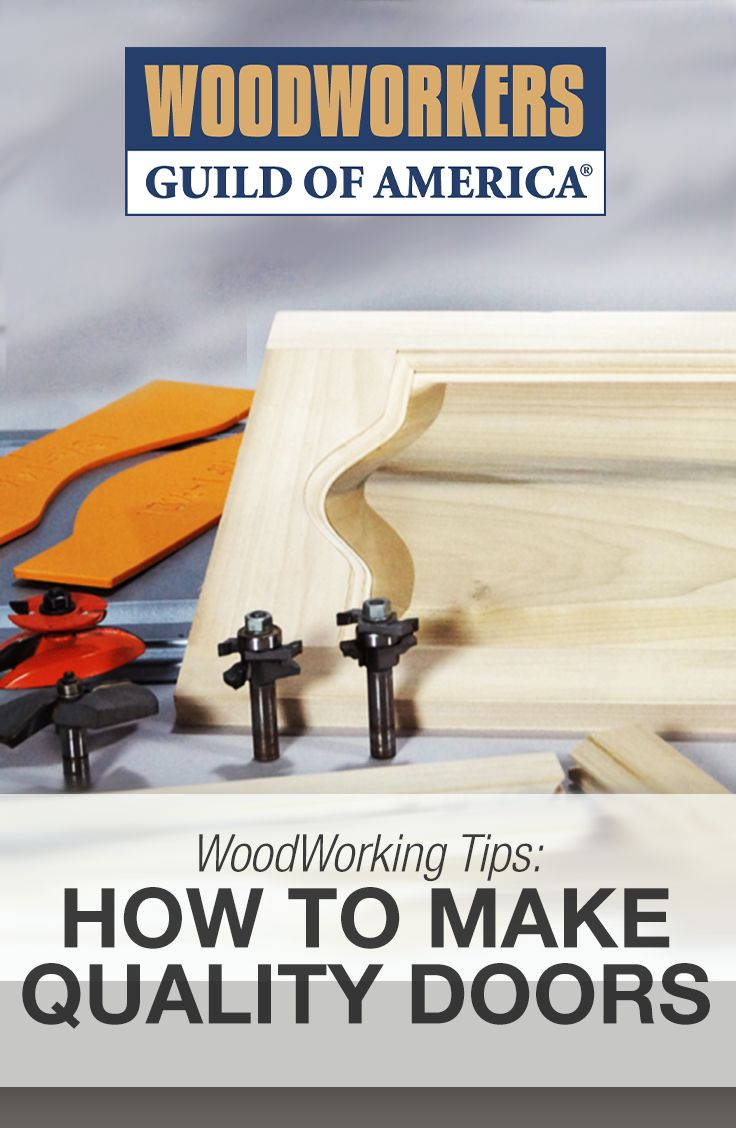 Make Quality Doors Doors, Woodworking and Woodworking videos