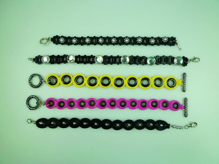 armbandjes met Bracelet Border Die