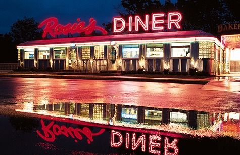 Rosies Diner  Home of the Bounty Paper towel commercial, staring Nancy Walker as Rosie