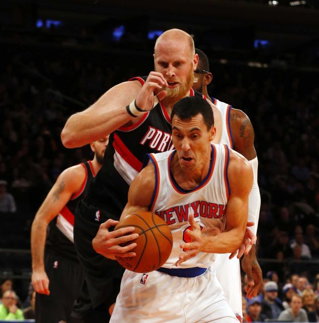 New York Knicks vs. Portland Trail Blazers NBA pictures - Newsday